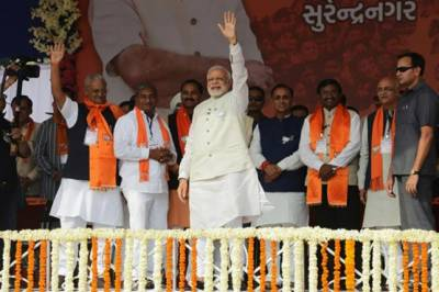 Narendra Modi faces the litmus test as home town Gujrat goes for polls