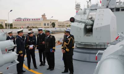 Pakistan - China Navies hold bilateral drills on maritime security
