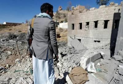 Saudi Airstrike hits Yemen TV Station