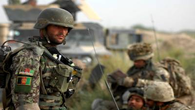 Afghan Army 8 soldiers killed, wounded in an attack on military check post by Taliban