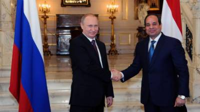 Egypt, Russia sign nuclear power plant contract