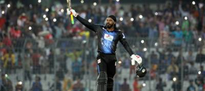 Gayle's 146 powers Rangpur riders to clinch BPL title