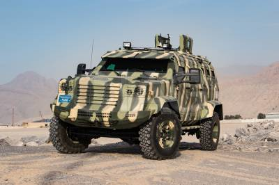 US gives Pakistan Police Armoured Personnel Vehicles to combat terrorism