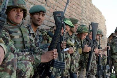 Afghan Army 14 soldiers killed in an ambush by Afghan Taliban