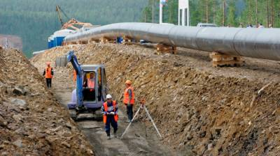 China-Russia strategic gas pipeline construction gains momentum
