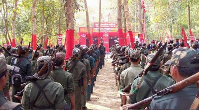 Indian security force kill 8 Maoist rebels
