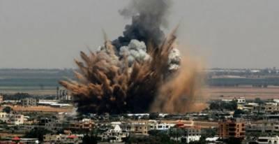 Israel strikes militant posts in Gaza