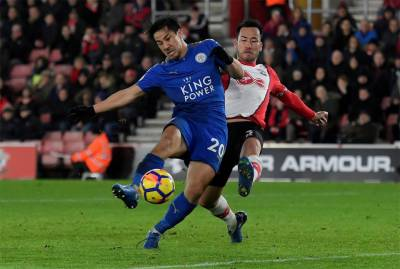 Puel's Leicester thump sorry Southampton 4-1