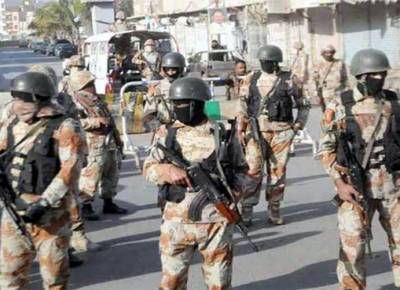 Rangers arrest 13 criminals in Karachi