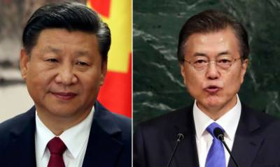 South Korean President in China on visit to repair ties