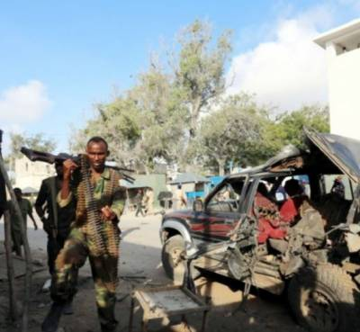 Suicide attack kills 13 police officials in Somalia