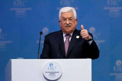 US no longer fit to broker an Israeli-Palestinian peace deal: Palestinian President