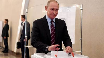 75% Russians to vote for Vladimir Putin for next term