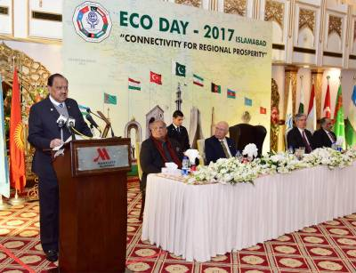 ECO nations urged to enrich cooperation in infrastructure, energy sectors