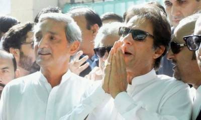 How Imran Khan reacted over Jehangir Tareen disqualification
