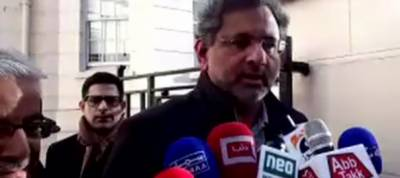 PM Shahid Abbasi says Ayaz Sadiq's statement is personal opinion
