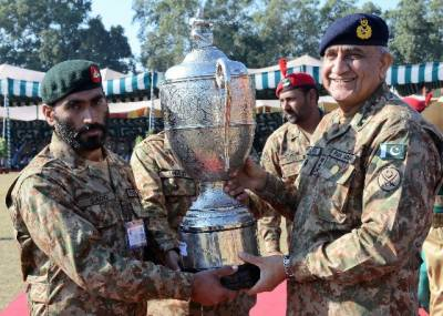 COAS visits Army marksmanship Firing Range