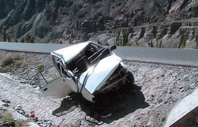 Pakistan Army three soldiers died in an accident on KKH