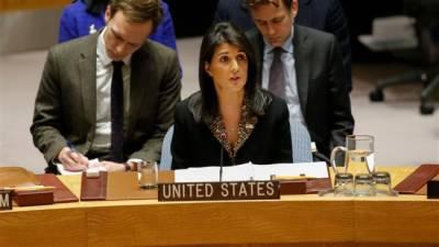 US warns nations over voting against US in UNGA over Jerusalem