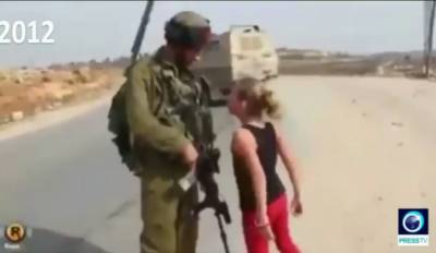 VIDEO: Young Palestinian girl Ahad Tamimi slaps Israeli Army soldier, gets arrested