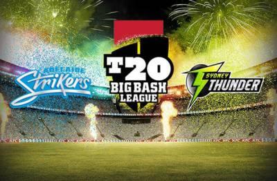 Big Bash League 2017-18: Adelaide Strikers to face Sydney Thunder