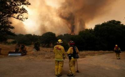 California wildfire evacuation orders lifted
