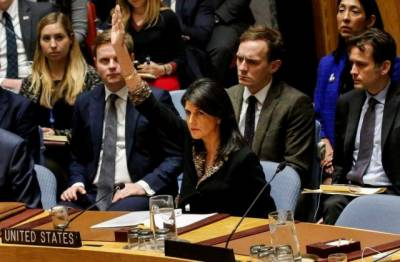 Defying Trump, over 120 countries at U.N. condemn Jerusalem decision