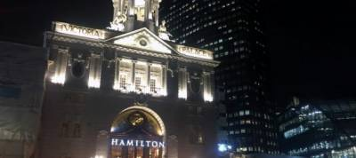 'Hamilton' takes centre stage in London's west end