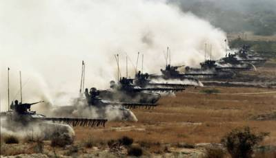 Indian Army holds massive exercise close to Pakistan border in Rajasthan