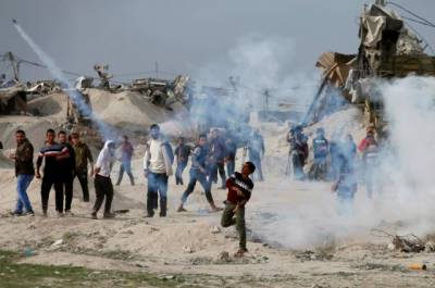 Israeli Army martyrs two Palestinian in Gaza as protests intensified