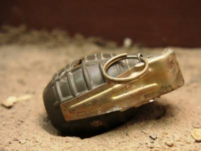 Police line attacked with Grenade in KP