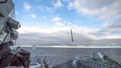 Sea Ceptor: UK test fires new missile system on Royal Navy warship