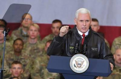 US Vice President surprise visit to Kabul under cover of darkness