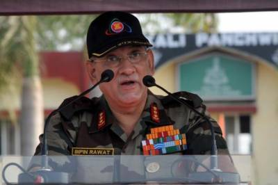 Indian Army Chief lashes out at Pakistan
