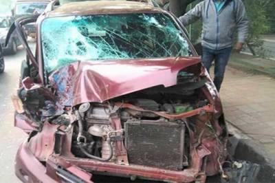 Pakistan High Commission officer in New Delhi met with serious accident