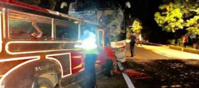 20 dead in Philippines bus crash on way to Christmas mass