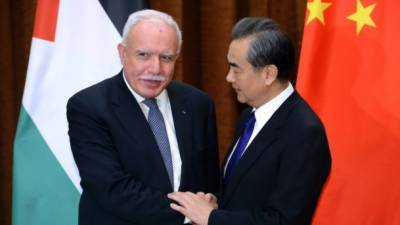 China fully supports independent Palestine state: officials