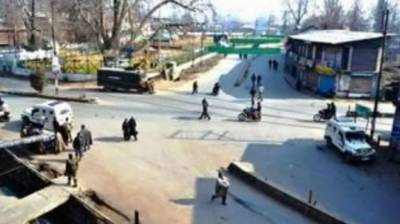 Complete shutter down in occupied Kashmir against Indian Army atrocities