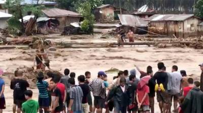 Death toll in Philippines tropical storm rises to 200