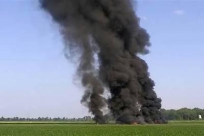 Private plane crashes in Florida, USA