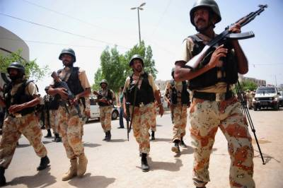 Rangers recover huge quantity of arms, ammunition in Karachi