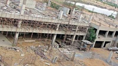 Shaheed Saif-ur-Rehman Hospital being constructed in Gilgit