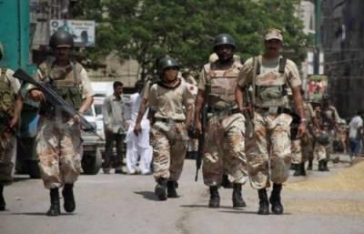 Sindh Rangers arrest 7 criminals in Karachi