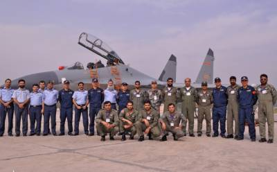 Pakistan Chinese Air Forces joint drills are highlight of China's international military cooperation: MoD
