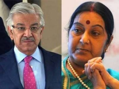 Pakistan Foreign Minister responds back to Sushma Swaraj allegations over Kulbhushan Jadhav