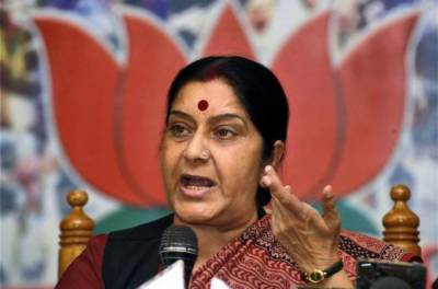 Sushma Swaraj lashes out at Pakistan over Kulbhushan Jadhav family meeting treatment