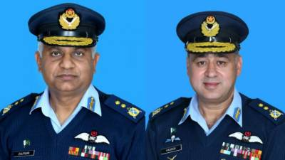 Two PAF officers promoted as Air Vice Marshal