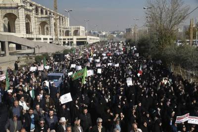 Tehran protests: Two persons reportedly killed in clashes