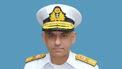 DG Naval Intelligence, Commodore Abdul Basit Butt promoted as Rear Admiral