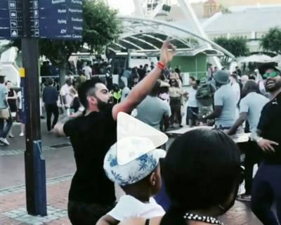VIDEO: Virat Kohli Bhangra on streets of Cape Town